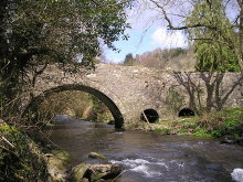 Llanfihangel-Ar-Arth, Bridge over the Afon Clettwr, Carmarthenshire © Marion Phillips